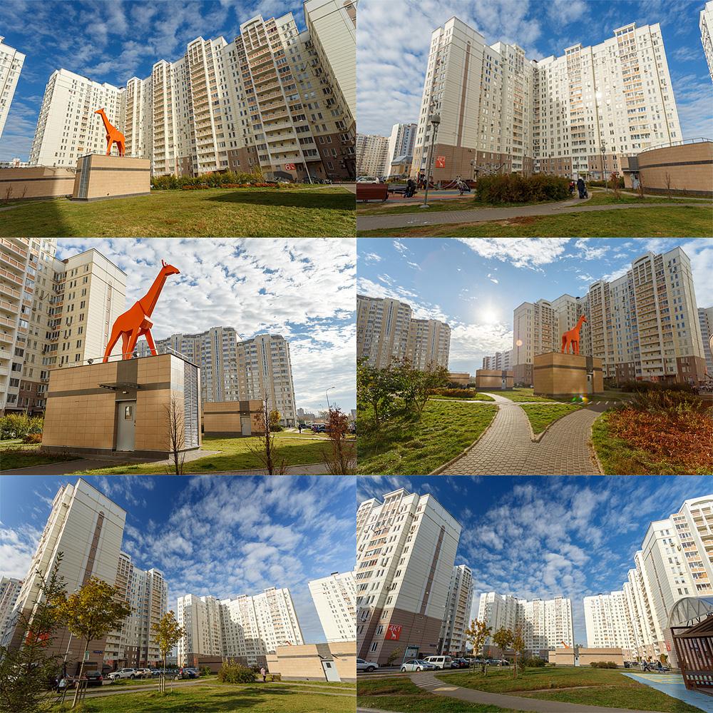 Седьмое небо: съемка ЖК Марфино (6 фото)