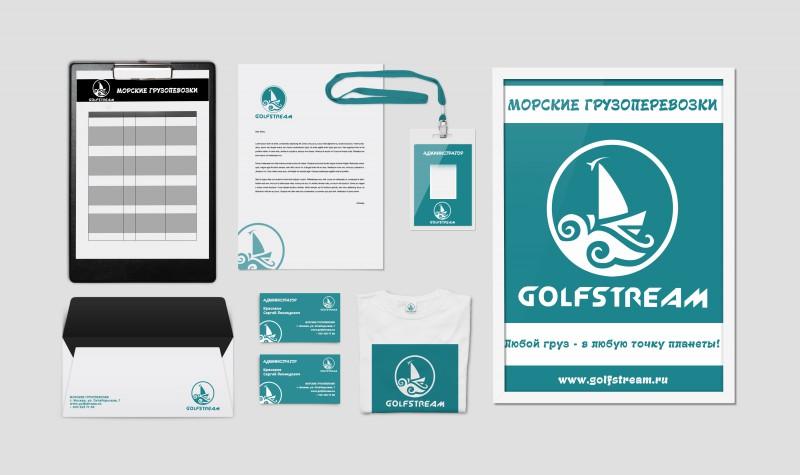 Фирменный стиль Golfsteam