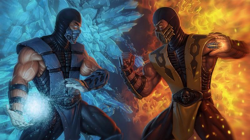 Sub-zero vs. Scorpion