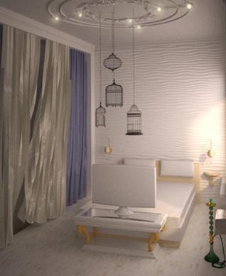 дизайн и зонирование комнаты