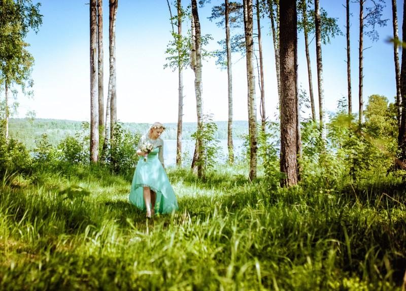 Невеста в лесу