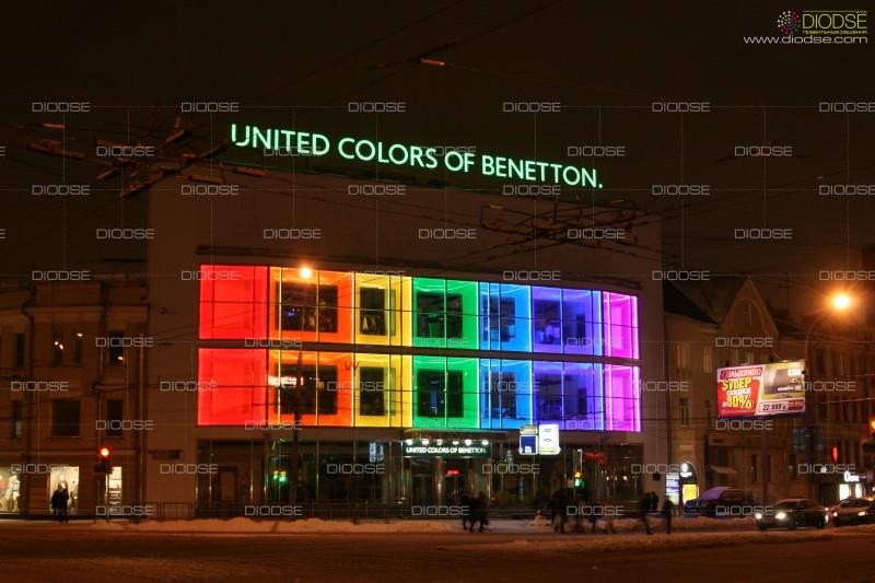Проект подсветки магазина USB, внутренний\внешний светодизайн
