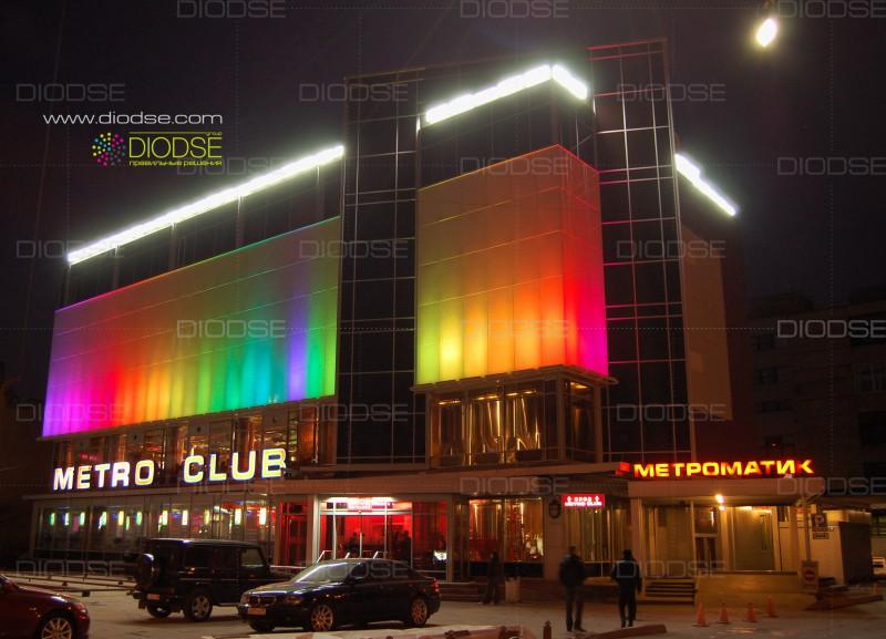 Проект динамической подсветки клуба