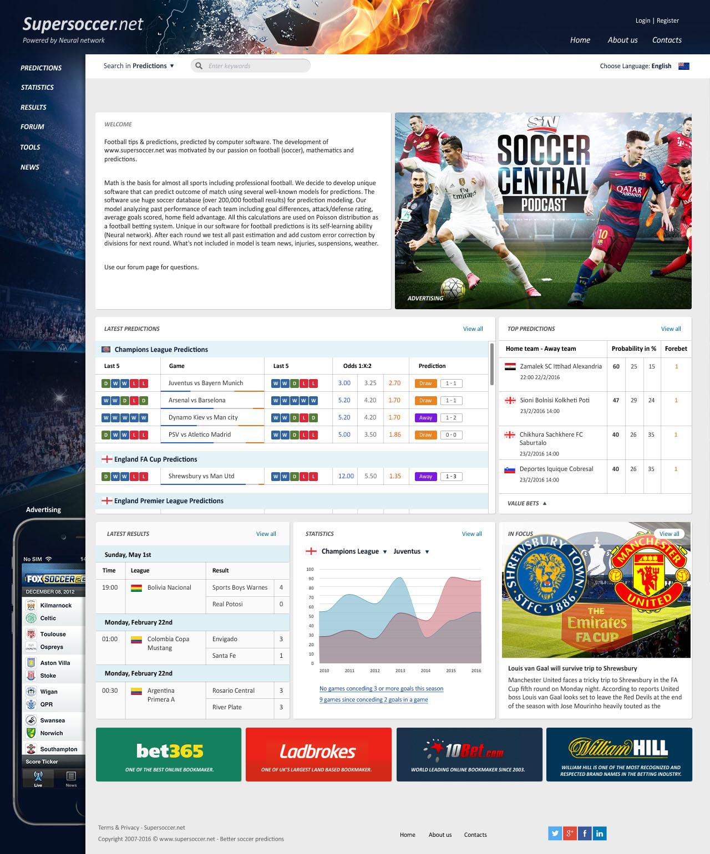 сайт футбольных ставок