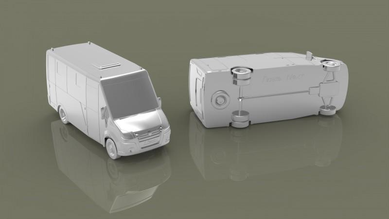 Сувенирная модель автомобиля.