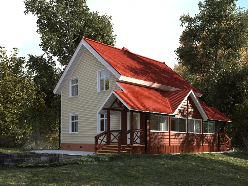 Загородный дом 3