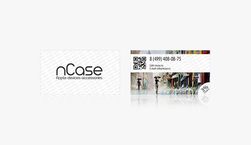 Визитка ncase