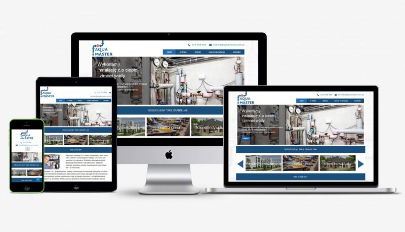 Сайт компании AquaMaster