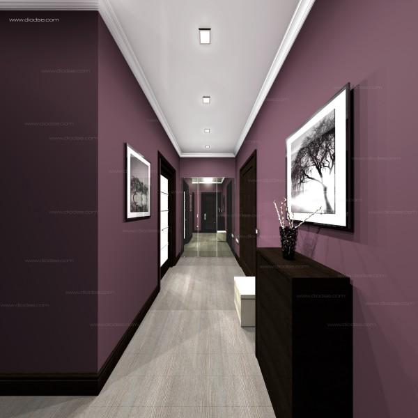 Дизайн проект 1-к квартиры г. Санкт-Петербург. Коридор