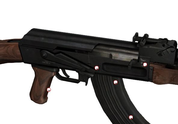 Интерактивная визуализация АК-47