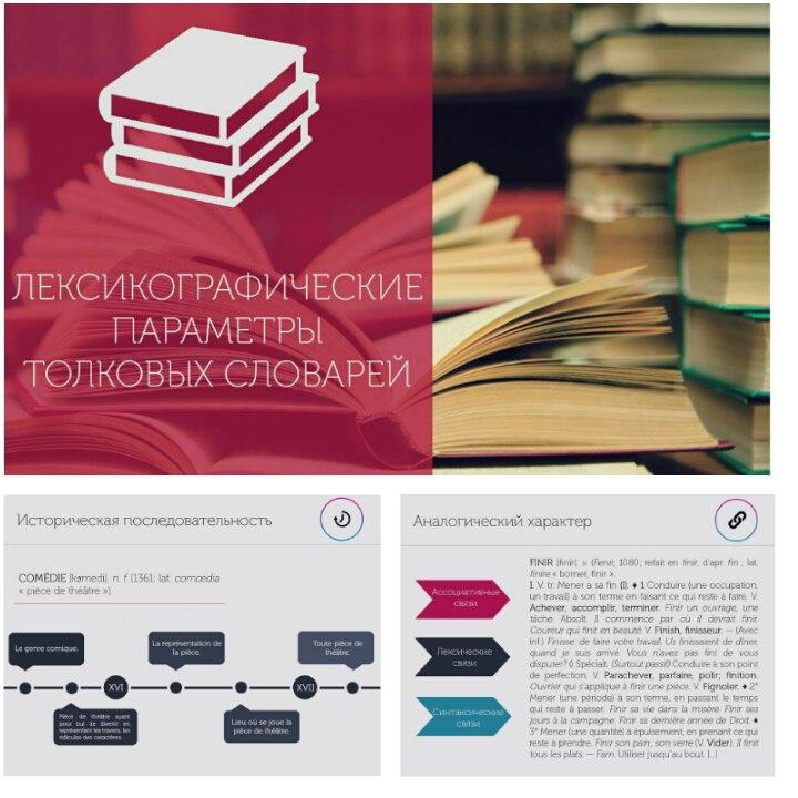 """Презентация """"Лексикографические параметры словарей"""""""