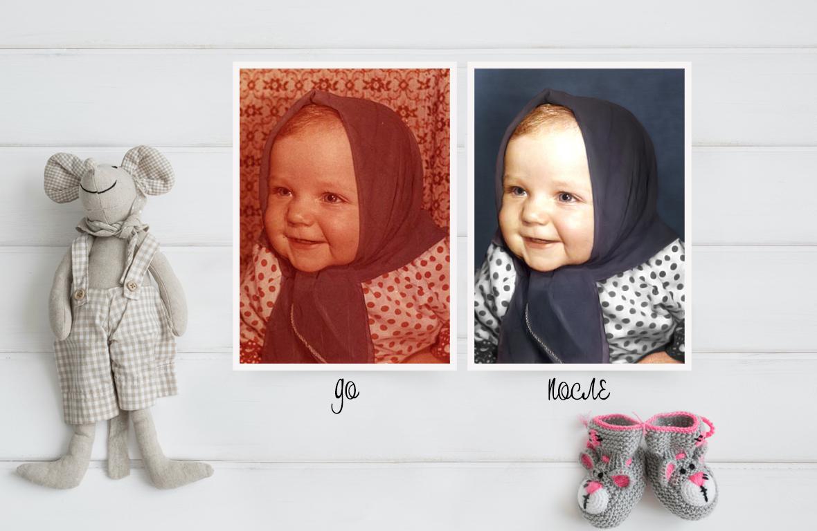Обработка фотографии, замена фона