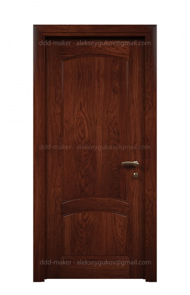 Визуализация двери - фронтальный вид