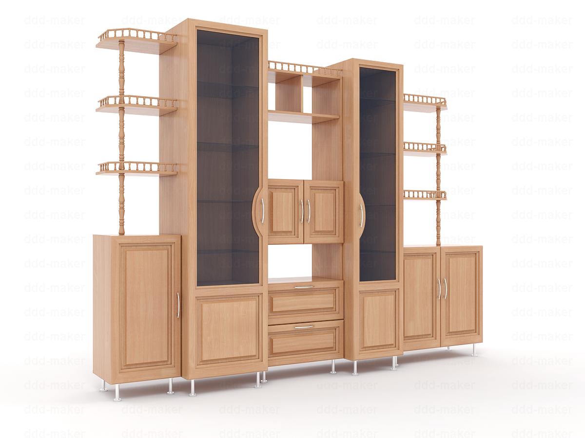Визуализация мебели - горка
