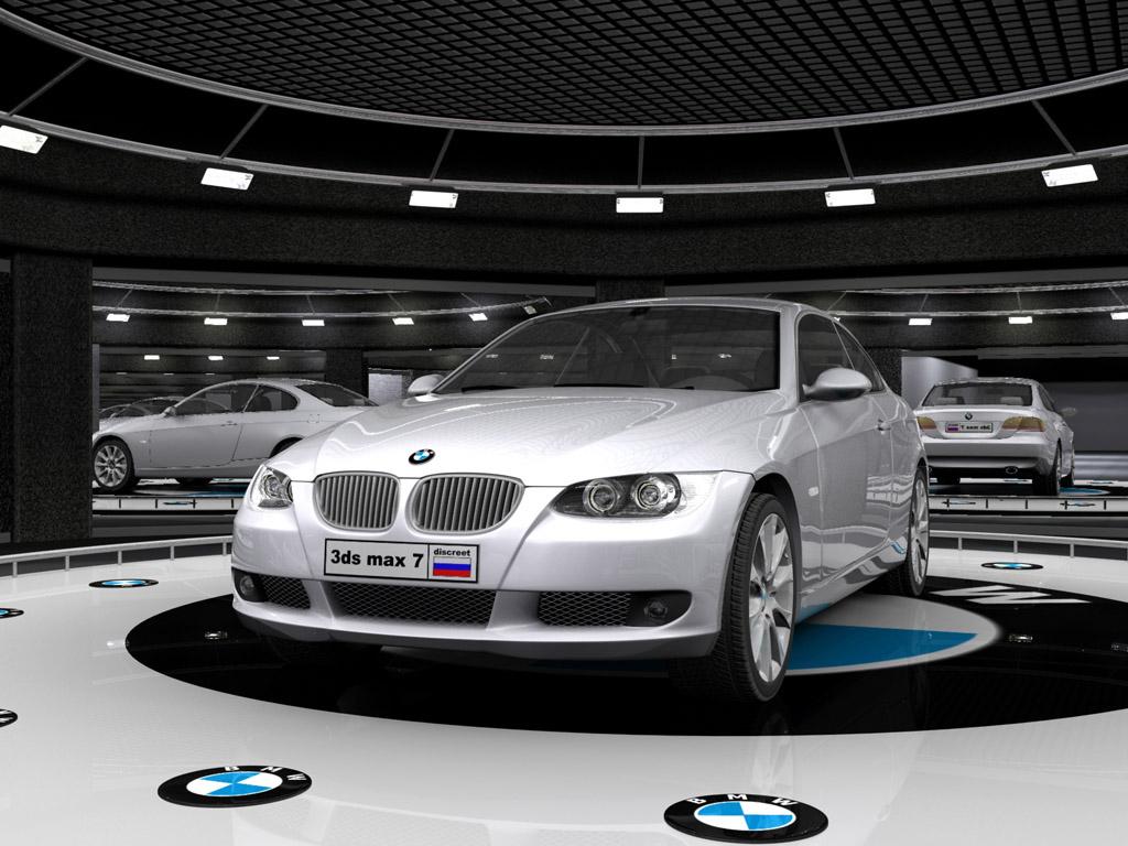 BMW 3-series Scanline Renderer