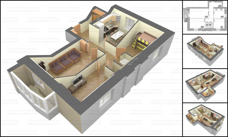 3d-планировка квартиры_2
