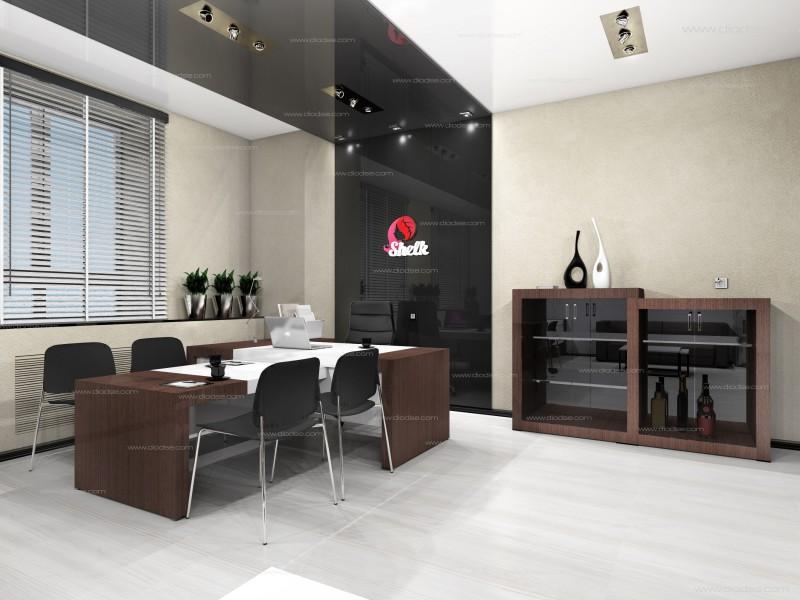 Дизайн проект офиса для косметической компании г. Пермь