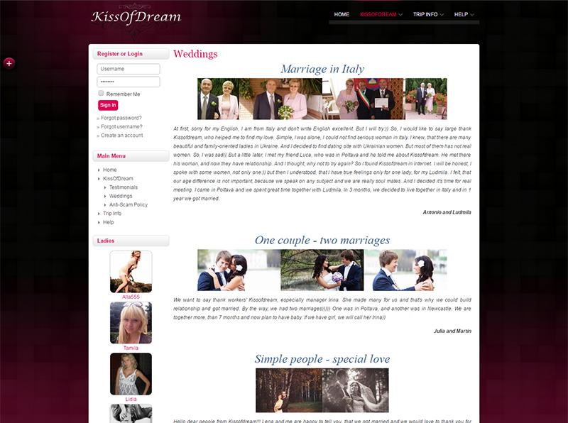Kiss of Dream