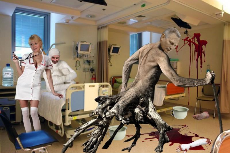 Бегом с больничной койки