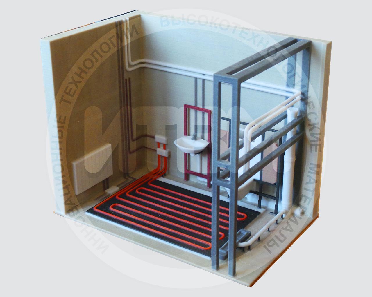3D моделирование, подготовка к печати, 3D печать (гипсополимер)