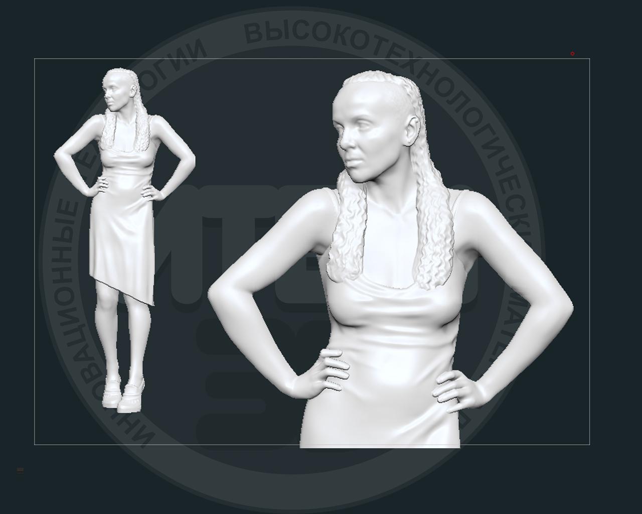 3D сканирование, 3D моделирование, подготовка к печати