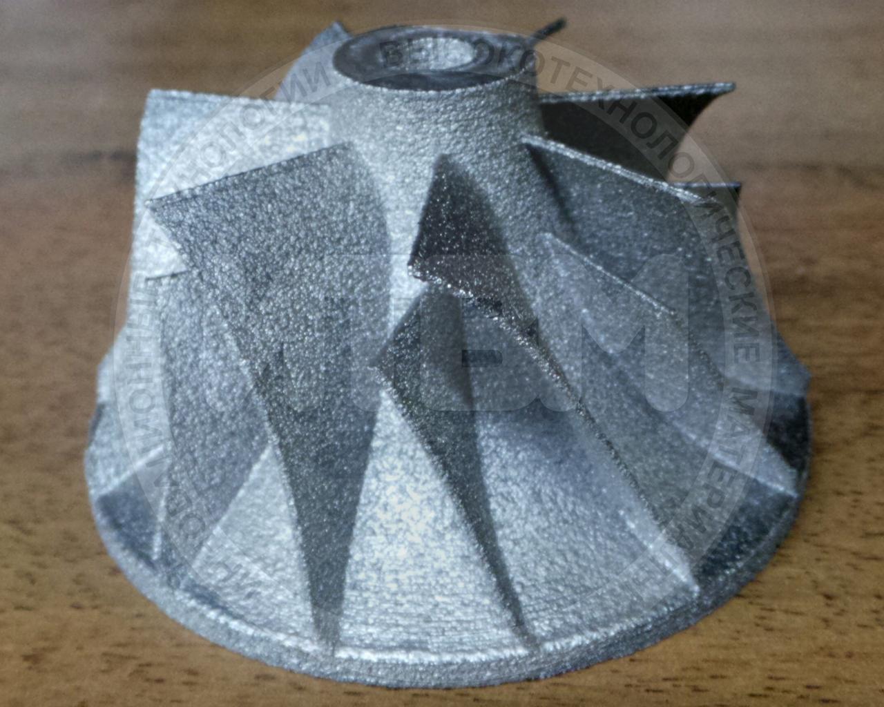 3D моделирование, подготовка к печати, 3D печать (Металл)