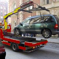 Эвакуация с неисправным рулевым управлением