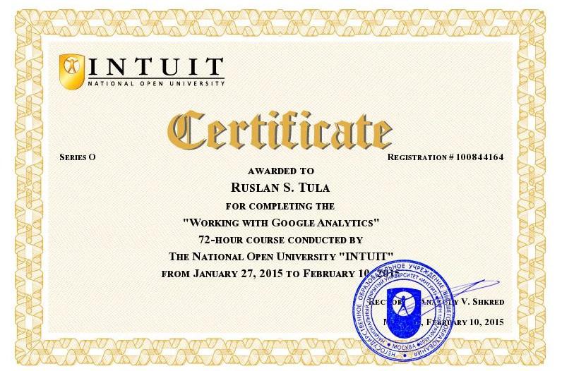 Основы работы в Google Analytics