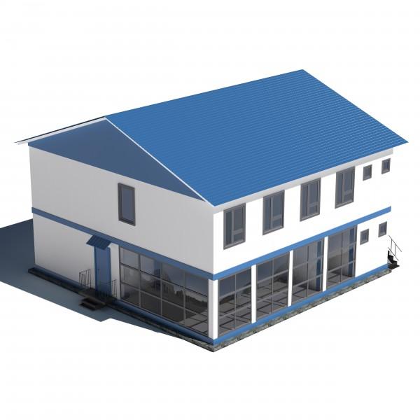 Макет модульного дома