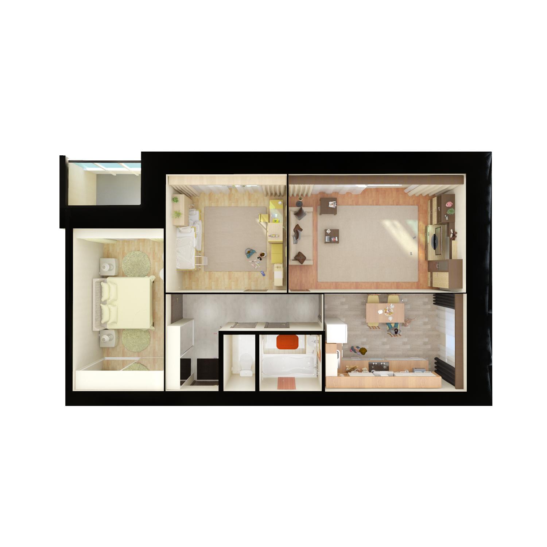 Квартиры для сайта вид сверху