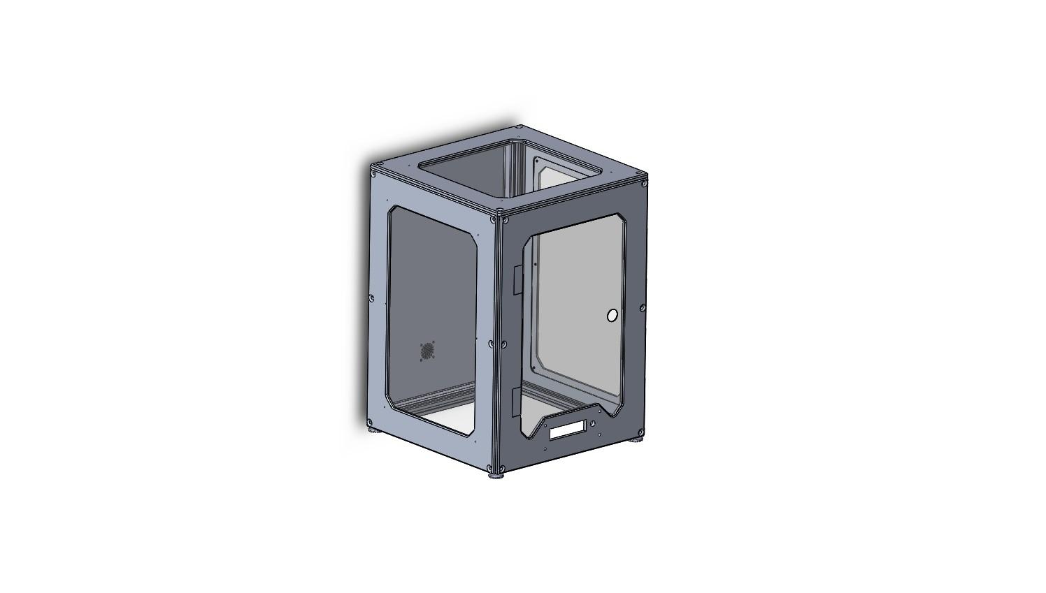 Разработка корпуса 3d-принтера