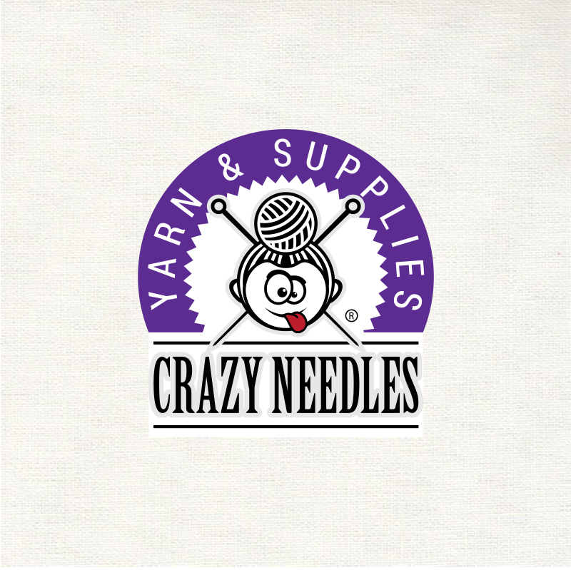 """Логотип """"Crazy Needles"""""""