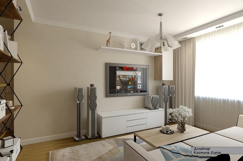 фото ремонта квартир в панельных домах з комнатная самый ценный