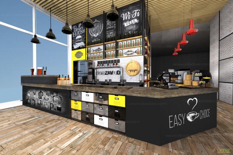 Дизайн проект 3в1 #ПИВZAVOD#EASU CHOISE#FRESH ZONA#