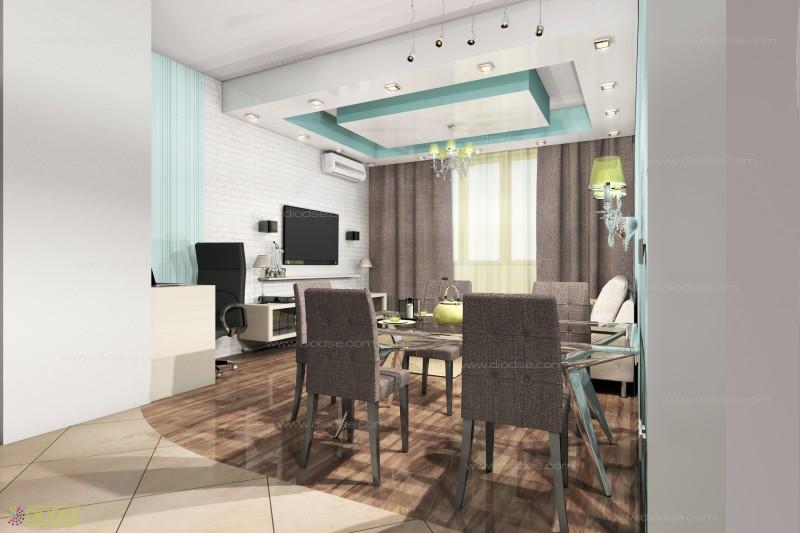 Дизайн проект 3-к квартиры г.Подольск