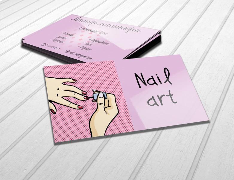 рисуем собственную визитку картинки сравнить