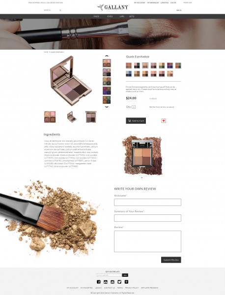 Ред-дизайн страницы продукта