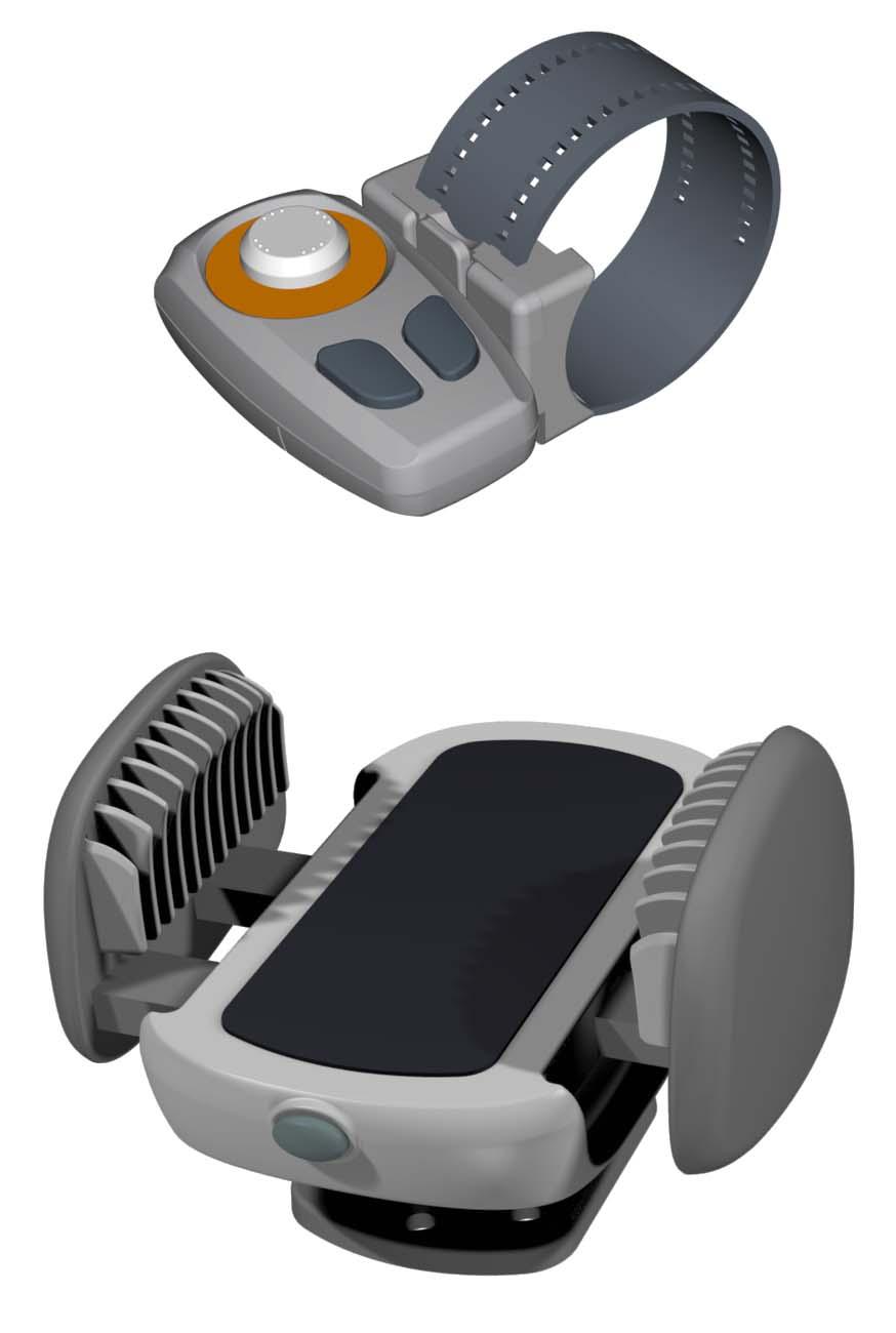 Холдер для телефона и пульт управления системой HandsFree