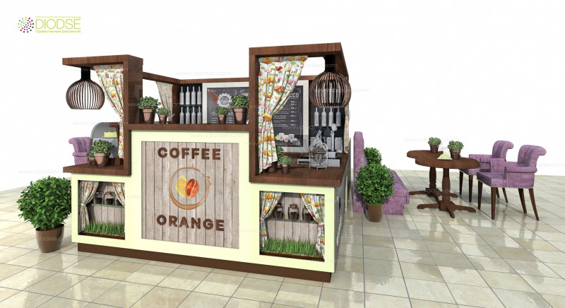 Дизайн проект мини кофейни р. Крым