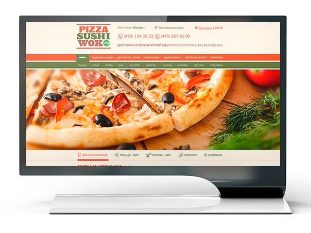 Pizza-Sushi-Wok