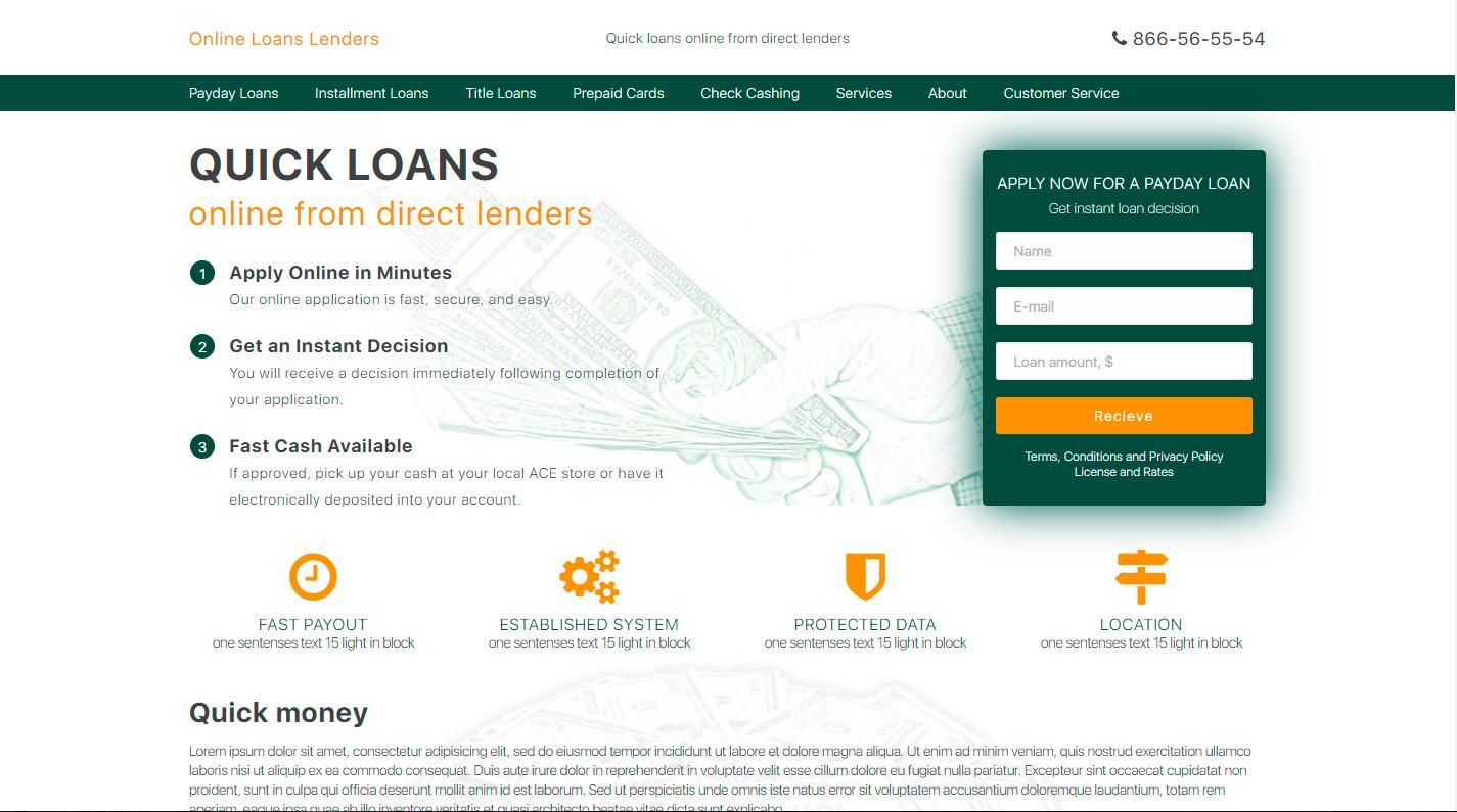 Сайт займов