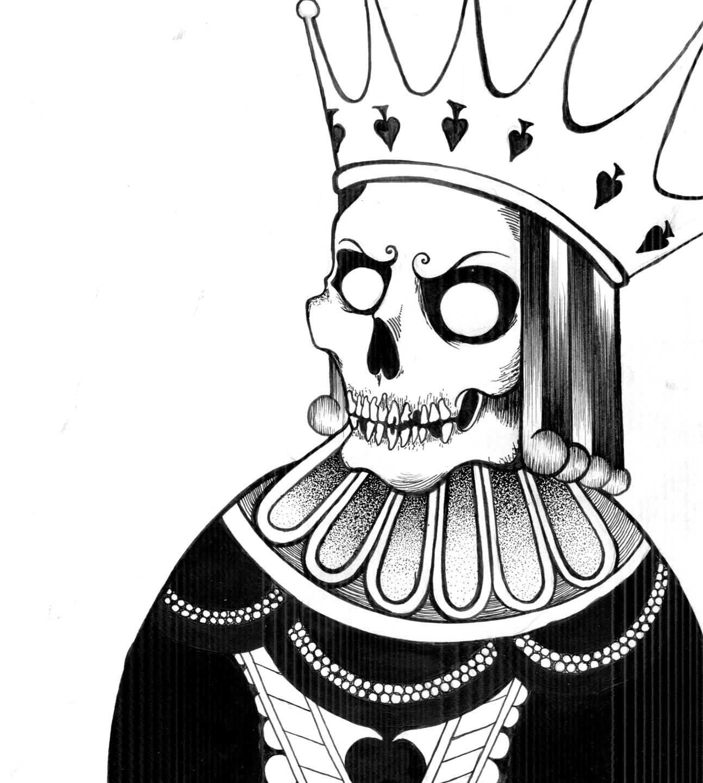 пиковый король фото