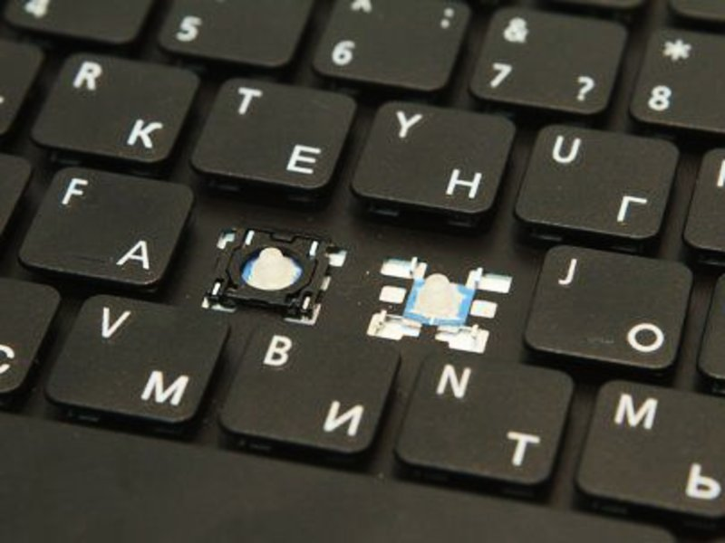 Замена кнопок клавиатуры