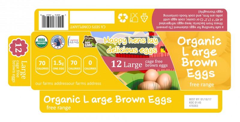 упаковка на яйца