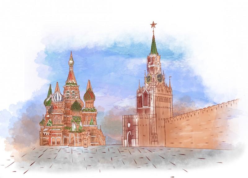 ценителей московский кремль картинка на белом фоне самом деле