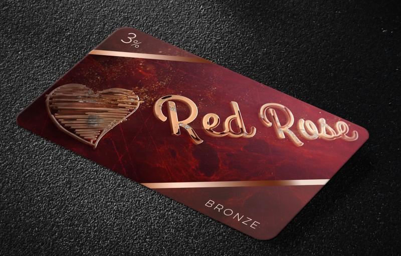 Дисконтная карта Red Rose г. Краснодар
