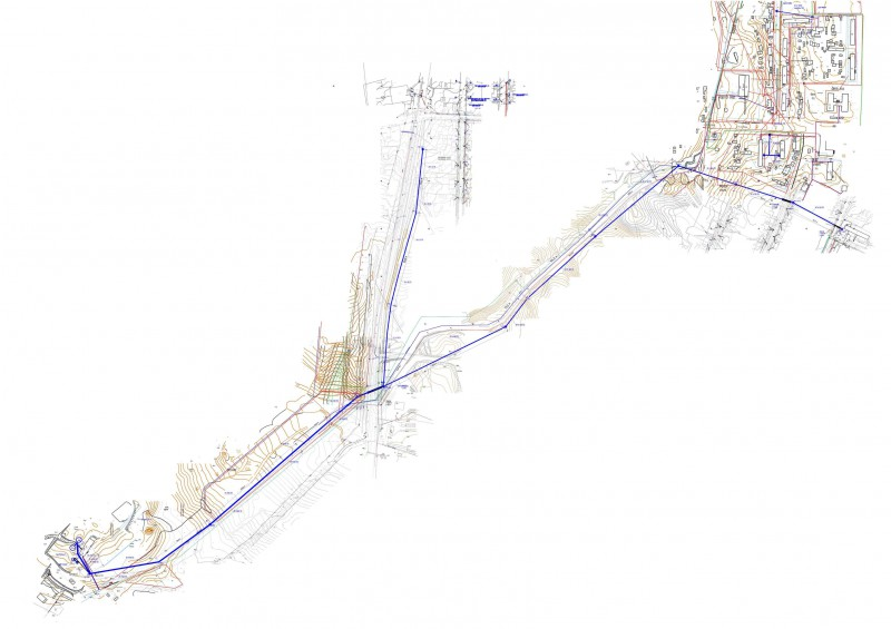Наружные сети водоснабжения 6 км
