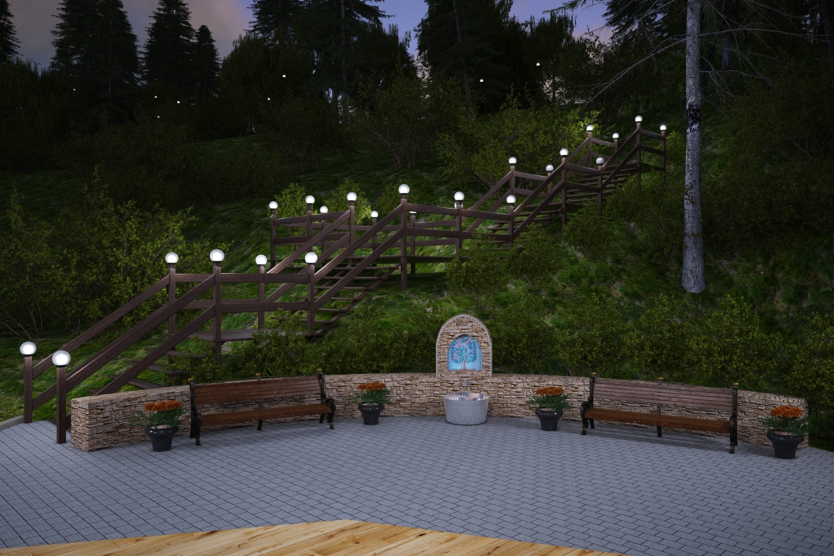 Парк в г.Химки