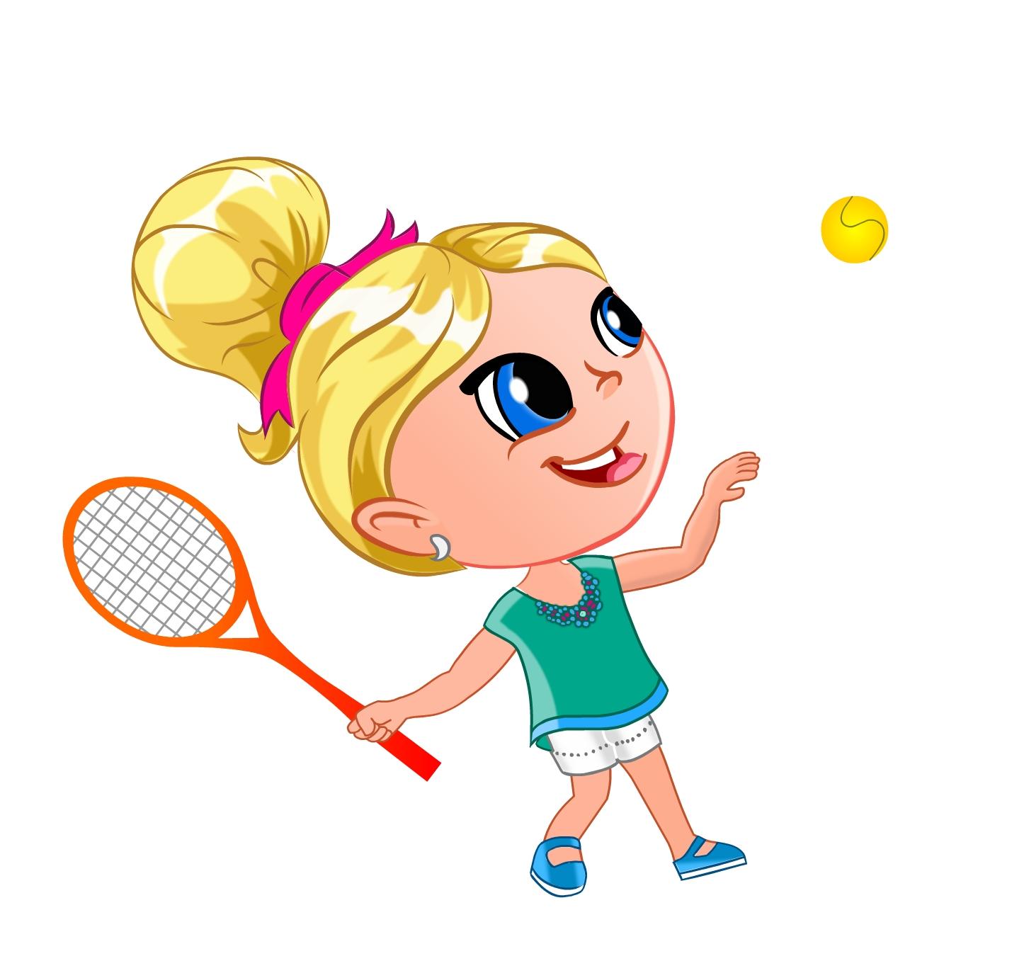 Картинки тенниса большого для детей, петельчатый