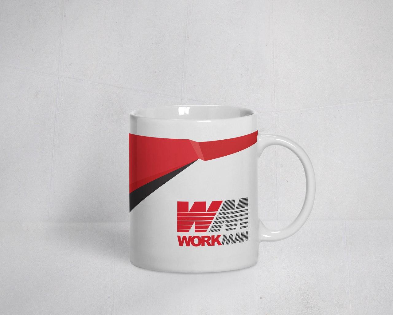 Фирменная стиль для компании WorkMan